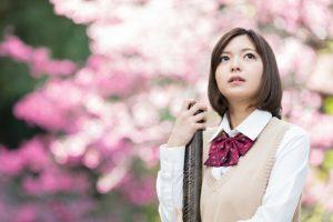 桜女子高生