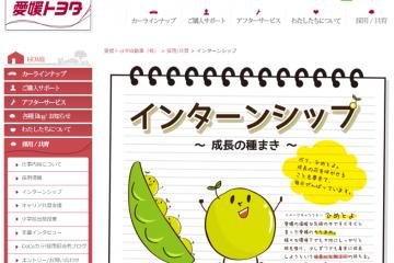 日本全国サイトでチェック! 高校生インターンシップレポート(15)愛媛トヨタ